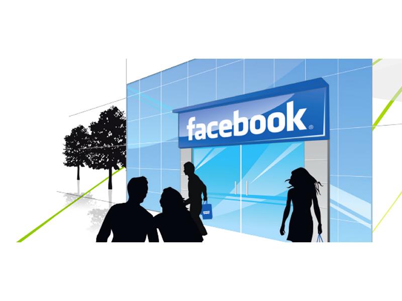 abertura de lojas no facebook