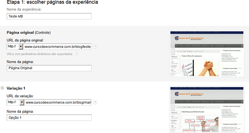 O que é Google Analytics Content Experiment e como realizar o teste A/B
