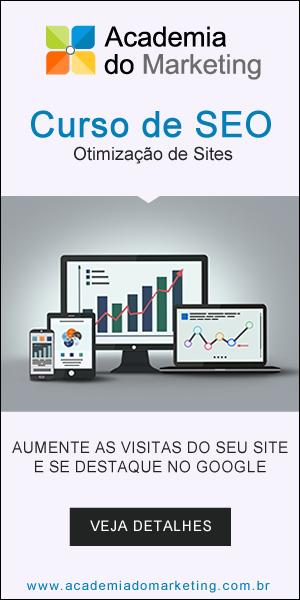 Clique aqui e conheça detalhes sobre o Curso de SEO - Otimização de Sites Para Ferramentas de Busca